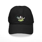Ameraucana Chicken Pair Black Cap