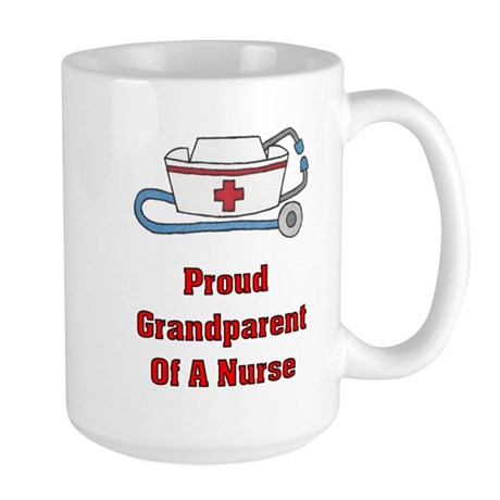 Proud Grandparent Large Mug