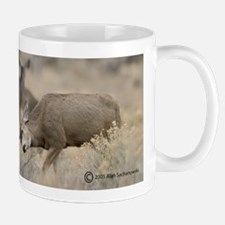 """Clash!"" Mug (Mule Deer)"