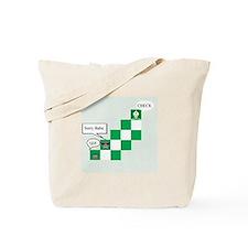 Cute Funny chess Tote Bag
