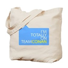 Totally On Team Conan Tote Bag