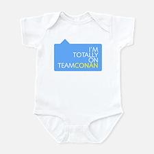 Totally On Team Conan Infant Bodysuit
