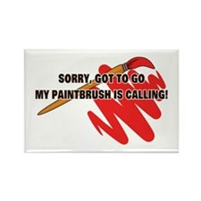 Painter's Excuse Rectangle Magnet