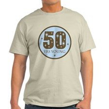 50 Years Young 50th Birthday T-Shirt