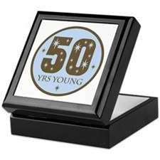 50 Years Young 50th Birthday Keepsake Box
