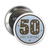 50s birthday Buttons