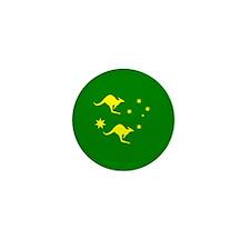 Australia Socceroo Ball Mini Button (10 pack)