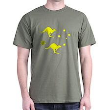 Aussie Roo & Southern cross T-Shirt