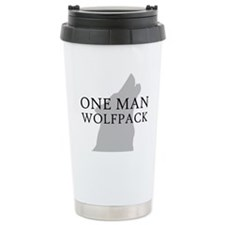 One Man Wolf Pack Travel Mug