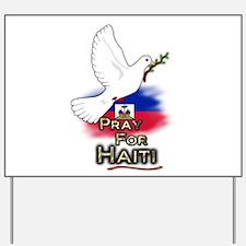 Pray for Haiti - Yard Sign