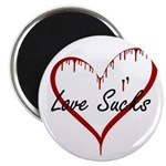 "Love Sucks 2.25"" Magnet (100 pack)"