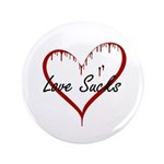"Love Sucks 3.5"" Button (100 pack)"