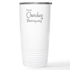 Cherokee Humor Travel Mug