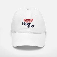 Helen Keller Baseball Baseball Cap