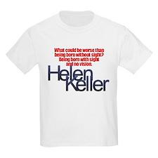 Helen Keller Kids T-Shirt