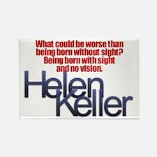Helen Keller Rectangle Magnet