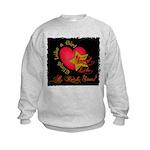 Send Like a Rock Star Kids Sweatshirt