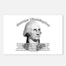 George Washington 05 Postcards (Package of 8)