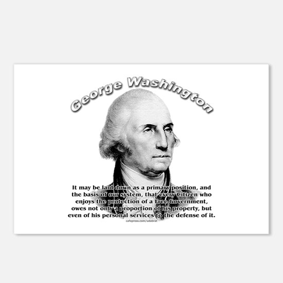 George Washington 05 Postcards (Package of 8)