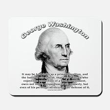 George Washington 05 Mousepad