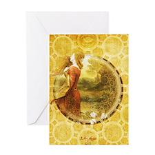 Lady Sage Greeting Card