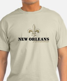 New Orleans, Louisiana gold T-Shirt