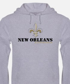 New Orleans, Louisiana gold Hoodie