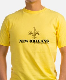 New Orleans, Louisiana gold T