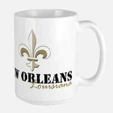New Orleans, Louisiana gold Mug