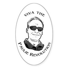 Revolutionary Oval Decal