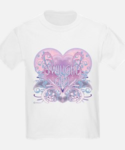 Twilight Girl Fancy Heart T-Shirt