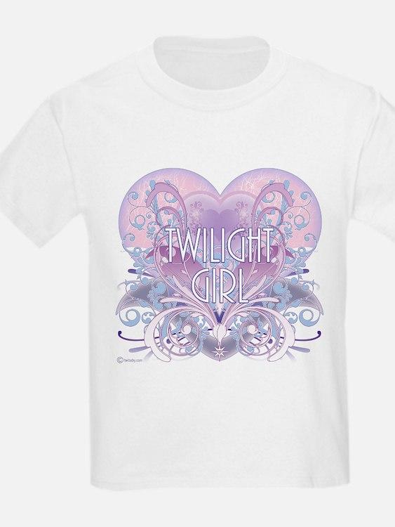 Twilight Girl Fancy Heart T-Shirt