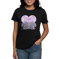 Twilight Girl Fancy Heart Tee