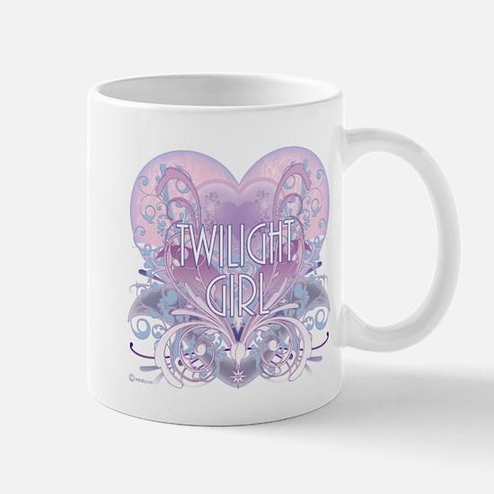 Twilight Girl Fancy Heart Mug