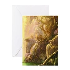 Feral Ruins Greeting Card