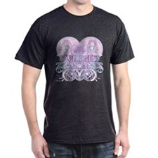 Twilight Mom Fancy Heart T-Shirt