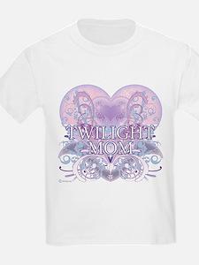 Twilight Mom Fancy Heart T-Shirt