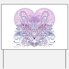 Twilight Mom Fancy Heart Yard Sign