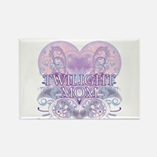 Twilight Mom Fancy Heart Rectangle Magnet