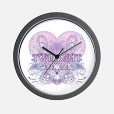 Twilight Mom Fancy Heart Wall Clock