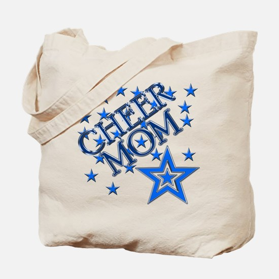 Cute Cheer blue Tote Bag