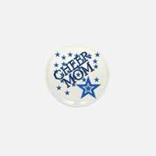 Cool Blue star mothers Mini Button