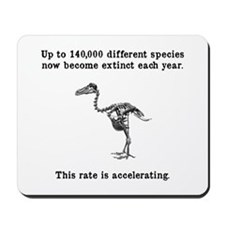 Extinct Mousepad