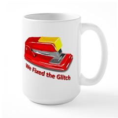 Fixed the Glitch Large Mug