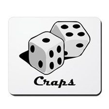 Craps Mousepad