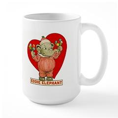 LOVE Eddie Elephant Large Mug