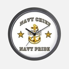 Navy Chief, Navy Pride Wall Clock