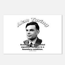 Alan Turing 01 Postcards (Package of 8)