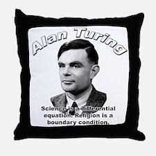 Alan Turing 01 Throw Pillow