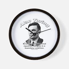 Alan Turing 01 Wall Clock